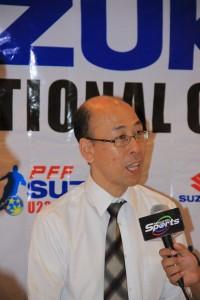Suzuki Philippines President Satoshi Uchida
