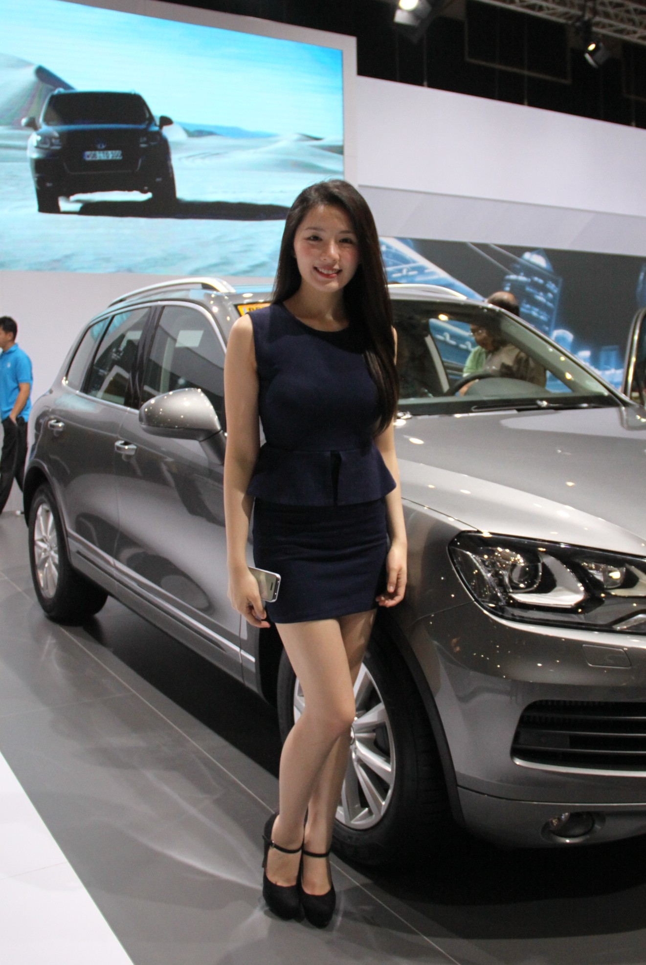 Christine Grace Co at the 2014 Manila International Auto Show