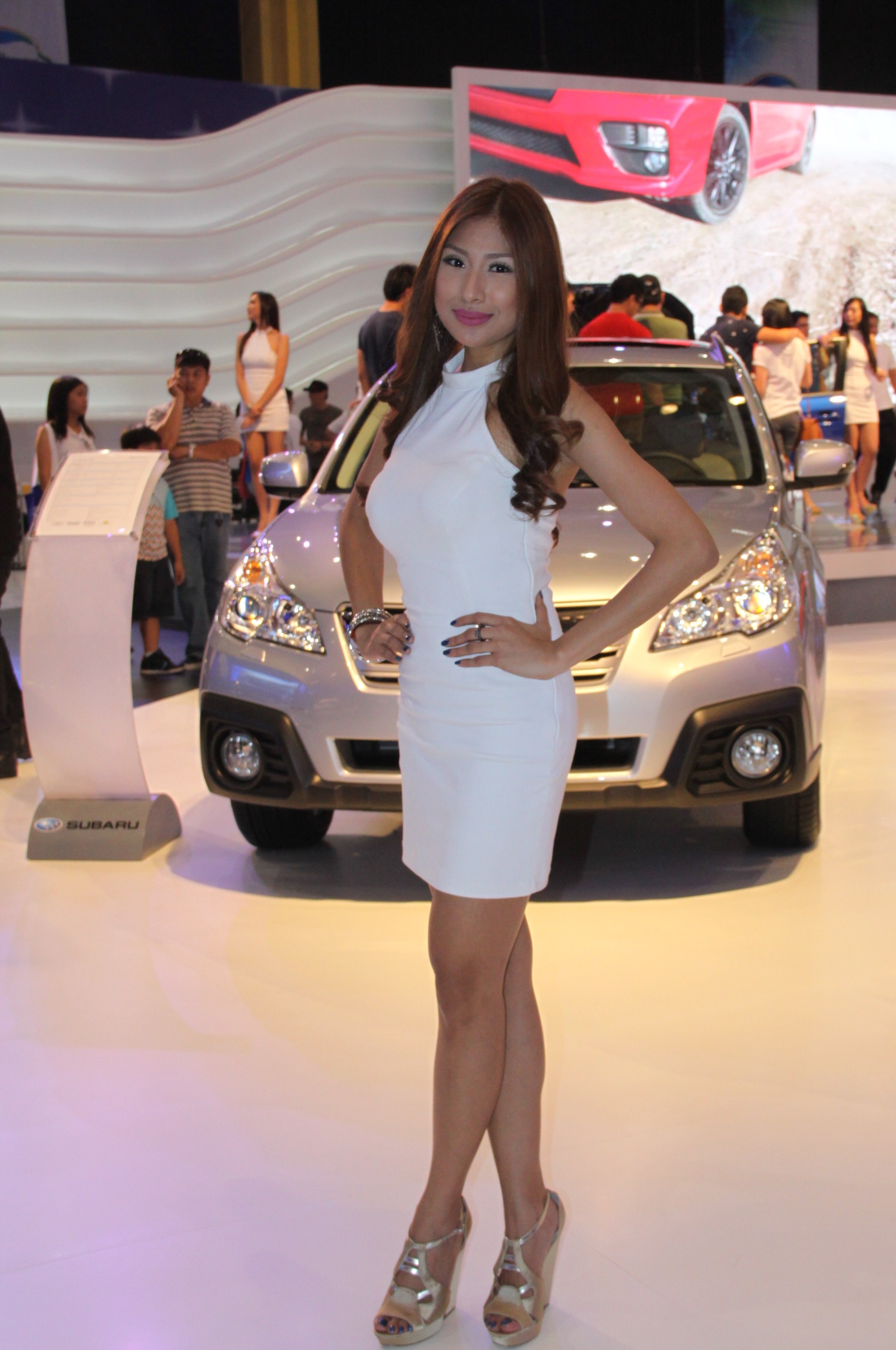 The Girls Of The 2014 Manila International Auto Show