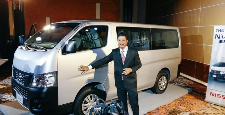 President and Managing Director Antonio Zara gives a close-up look at the all-new Nissan NV350 Urvan